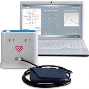 Pomiar centralnego ciśnienia tętniczego (producent Atcor)